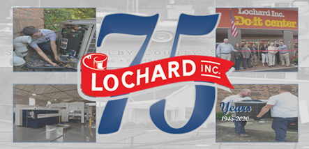 Photo of Lochard logo and history about company